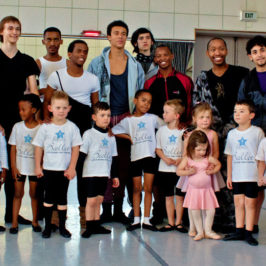 Boys Visit Jo'burg Ballet Company
