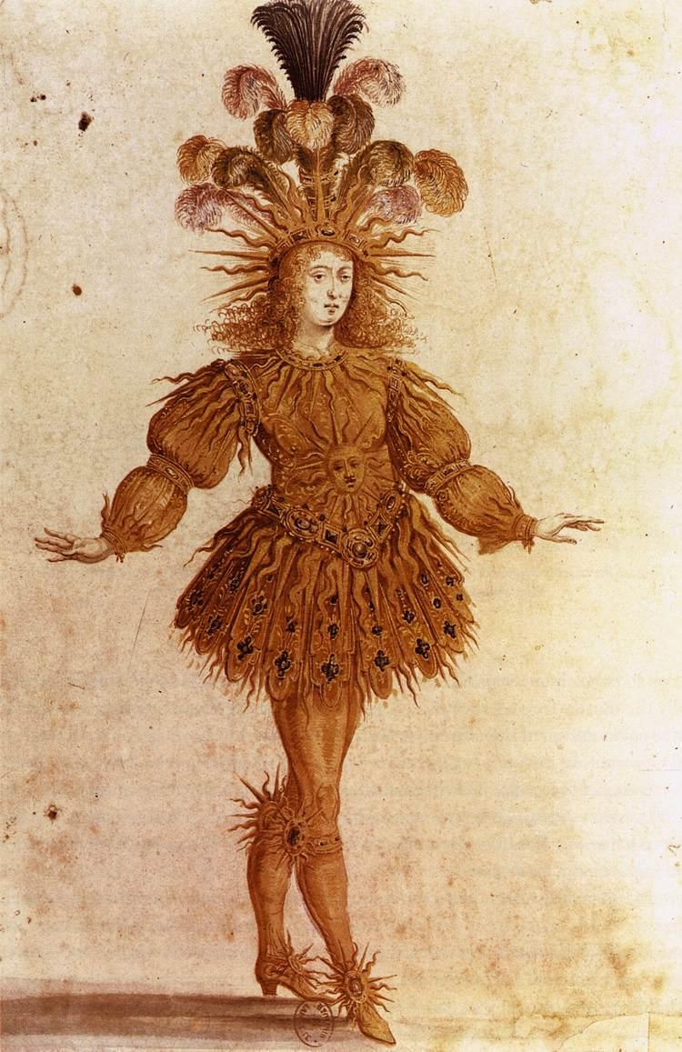 Louis XIV in Lully's Ballet Royal de la Nuit (1653).